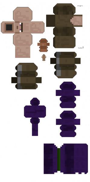 Майнкрафт: поделки из бумаги своими руками с фото и видео