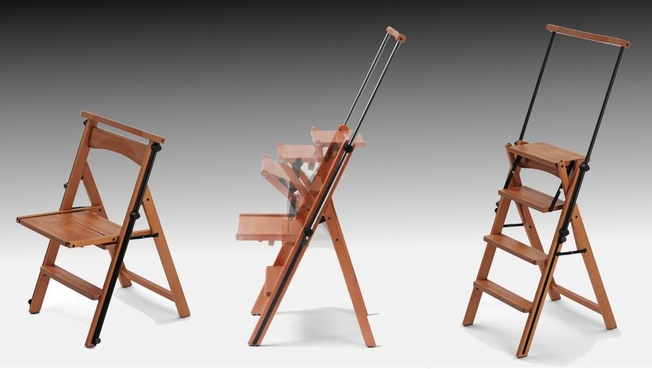 Раскладной стул-лестница