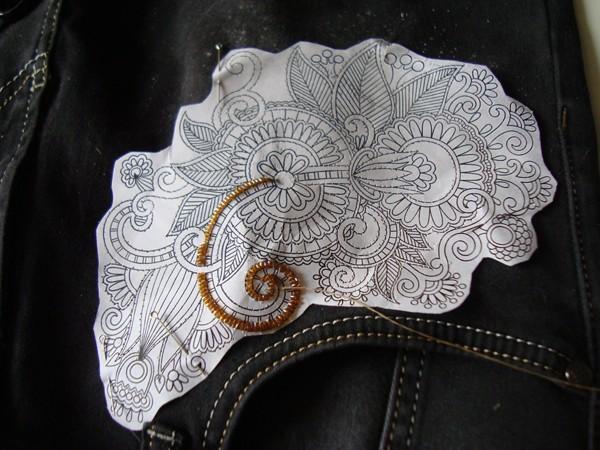Вышивка стеклярусом на одежде схемы