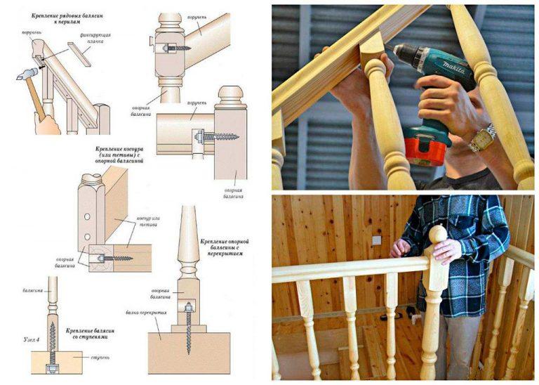 Сборка деревянной лестницы на косоурах своими руками