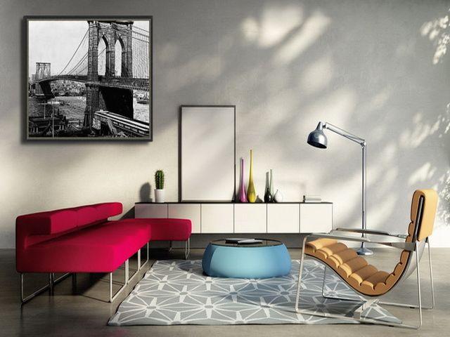 Нью йоркский стиль в интерьере