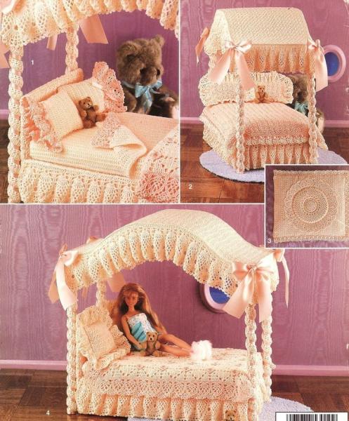 Мебель для Барби своими руками из картона: мастер-класс с фото