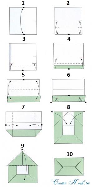 Как сделать конверт из бумаги своими руками | 600x295