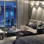 Спальня и гостиная в одной комнате: зонирование и оформление (+36 фото)