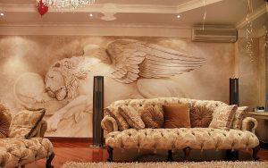 диван в гостинной