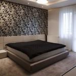 Шторы и тюль в спальню: правила и детали