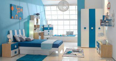 6 нюансов по использованию синего цвета в интерьере детской комнаты