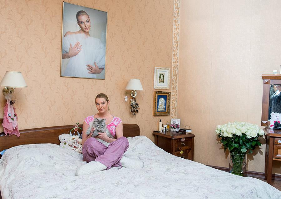 Роскошная квартира Анастасии Волочковой в С-Петербурге за 88 млн. руб. [обзор интерьера]