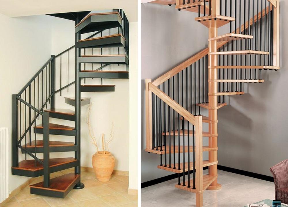 Многоугольные винтовые лестницы
