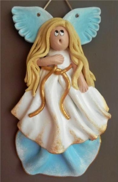 Как сделать ангелочка своими руками с цветами из подручных материалов