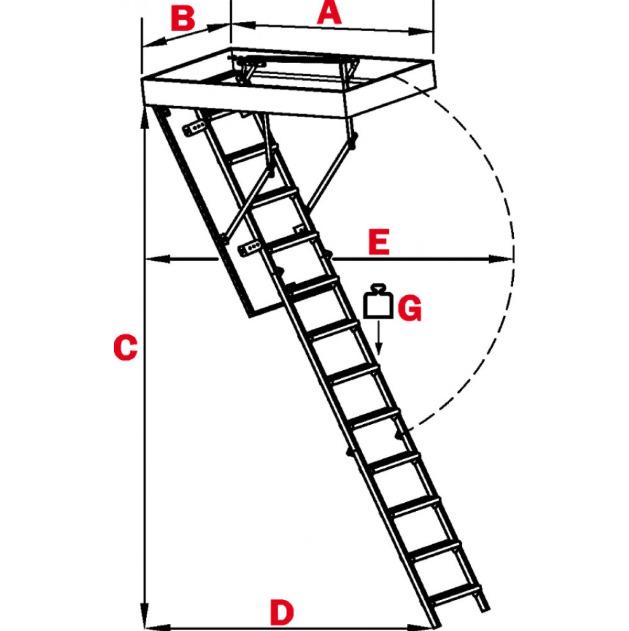 Установка чердачной лестницы своими руками