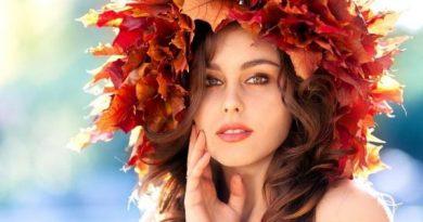 Осенние венки на голову из природного материала своими руками