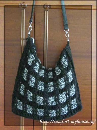 dcbd9b23d11d Моя новая сумка. Как связать оригинальную сумку крючком