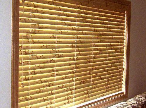 Декоративные шторы из бамбука своими руками