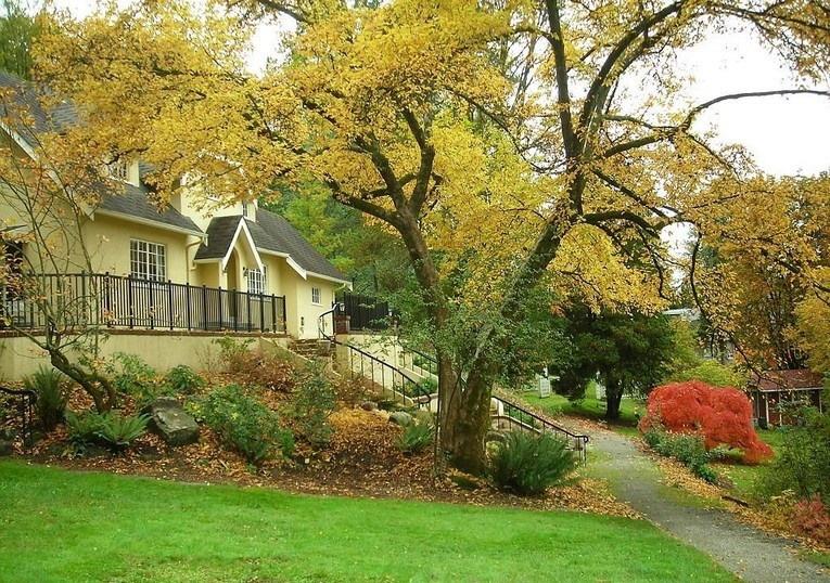 Как украсить дачу и сад к осени (33 фото)