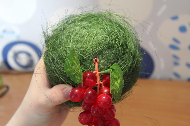 Топиарии из фруктов и ягод: мастер-класс с фото и видео
