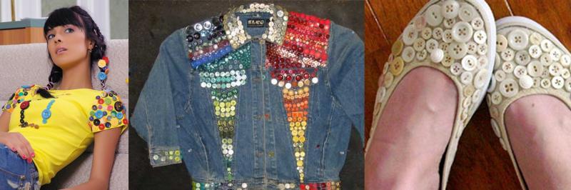 Декор одежды своими руками: идеи украшения пуговицами и бисером с фото