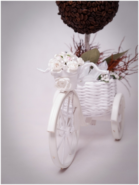 Велосипед своими руками с корзинкой для декора с фото и видео