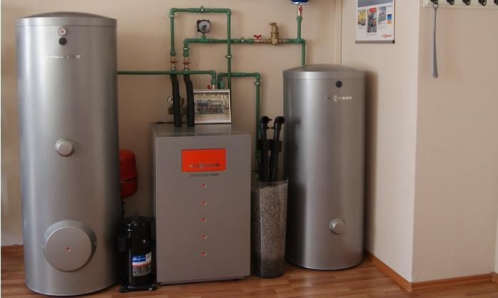 Однотрубная система отопления частного дома схема