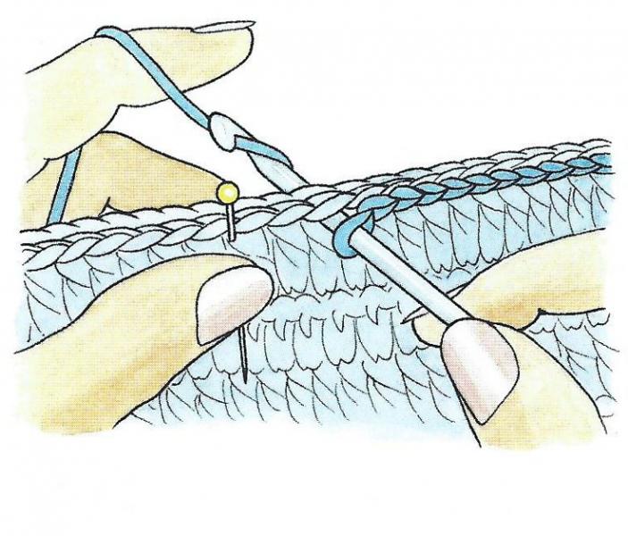 Как вязать полустолбик крючком для начинающих
