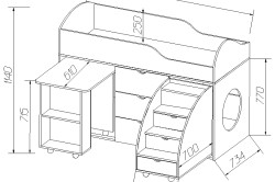 Как собрать кровать-чердак: инструкция и порядок работы
