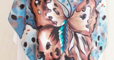 Батик: роспись по ткани для начинающих, мастер-класс с фото и видео
