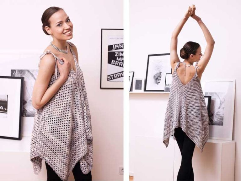 Вязание в стиле бохо для полных женщин
