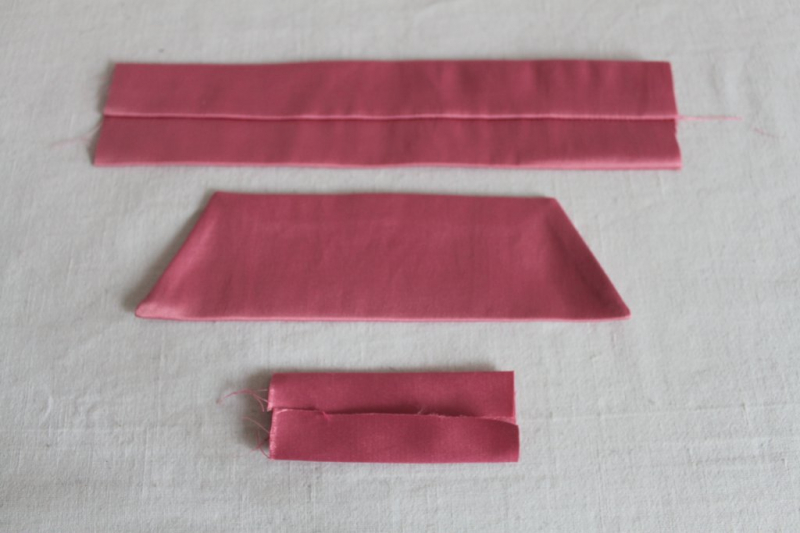 Бант из ткани своими руками на голову или на платье с мастер-классом