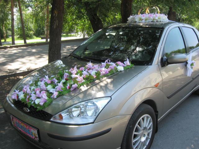 Украшение на машину своими руками на свадьбу: мастер-класс с фото и видео