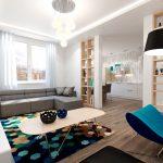 Как создать современный дизайн 2-х комнатной квартиры?