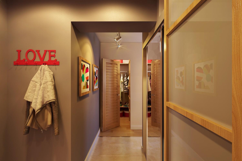 Выбираем цвет для покраски прихожей и коридора (+38 фото)