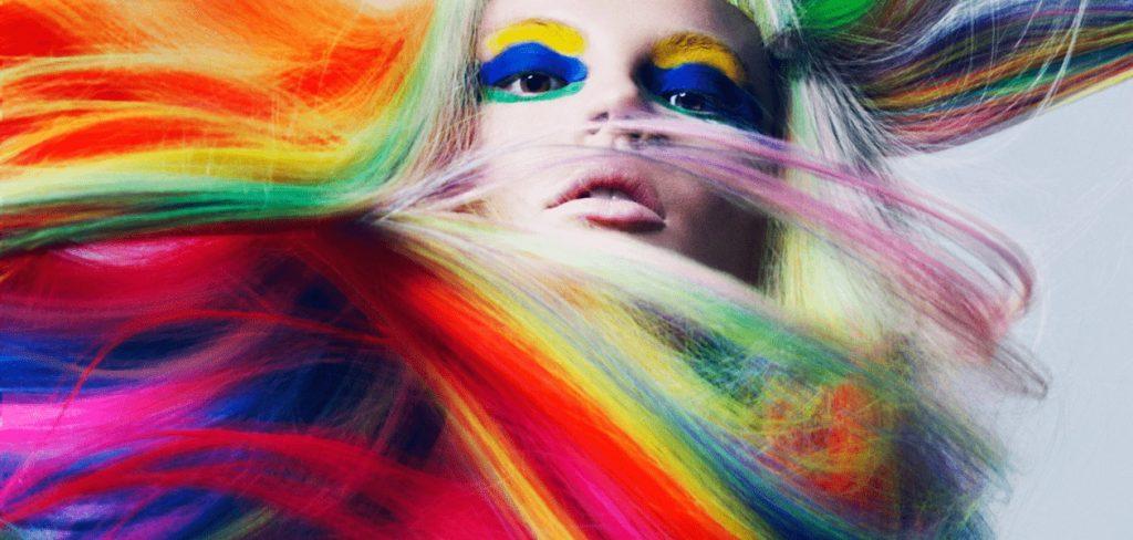 Тест №11 В какой необычный цвет покрасить волосы?