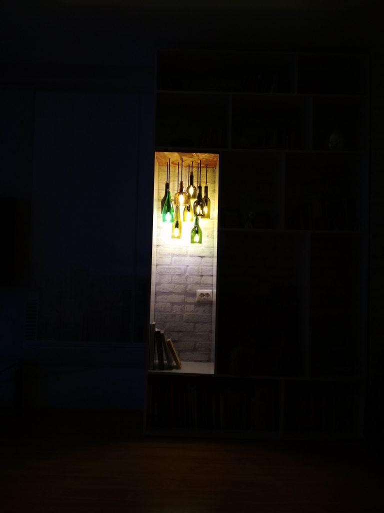 """""""Светлая история на срезе бутылки"""" [история создания чудо-люстры от подписчика]"""
