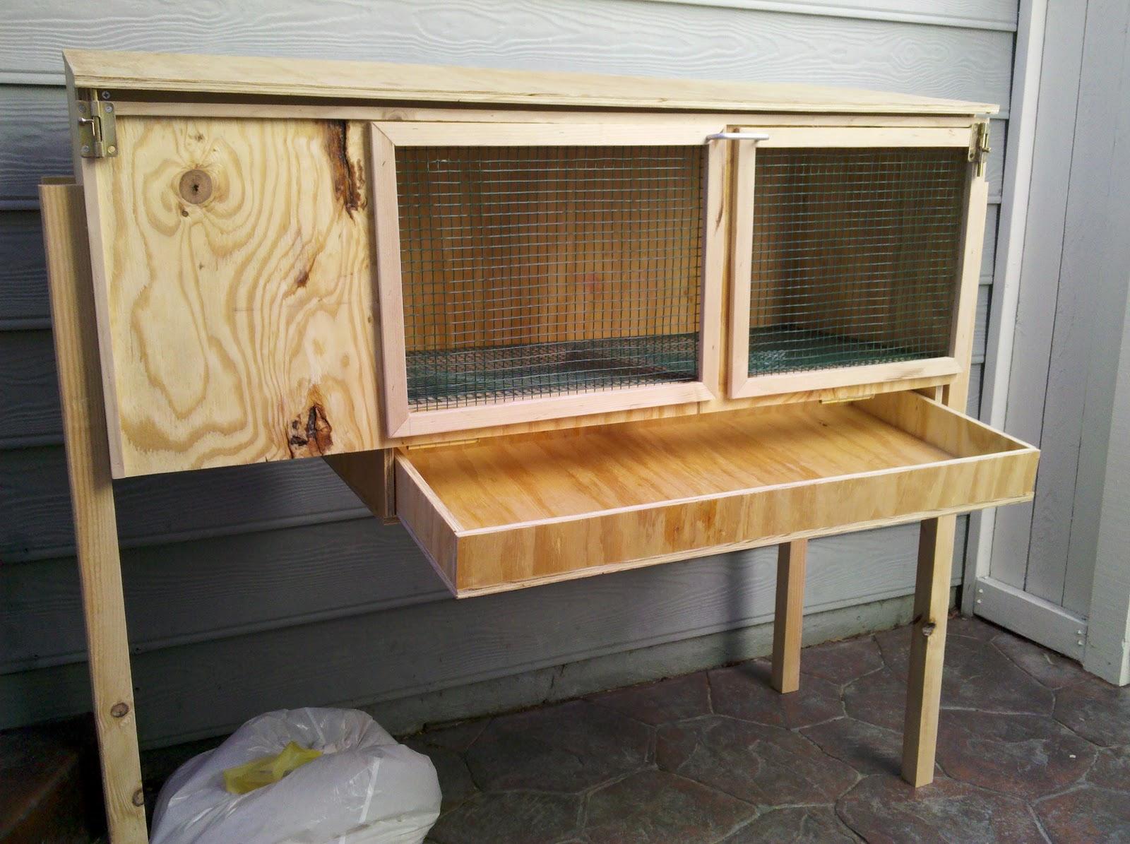 Клетка для кролика своими руками: как сделать красивое и удобное жилище?