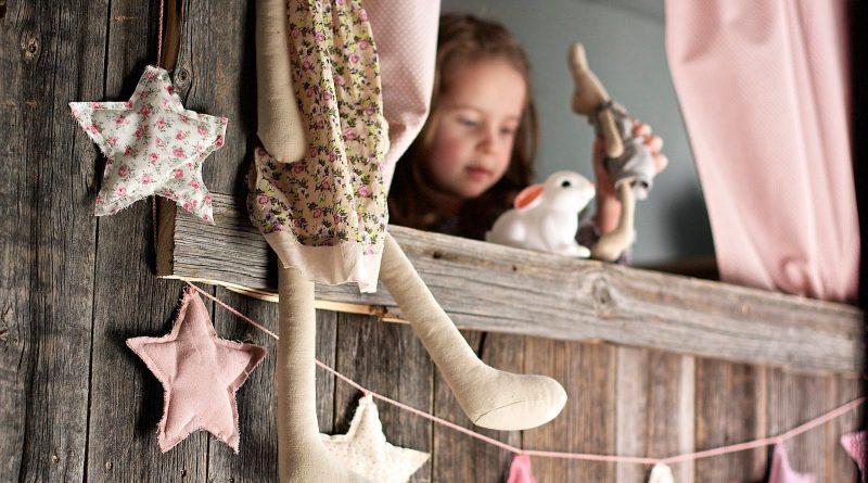 DIY: 4 варианта декора для детской девочки - Отделка