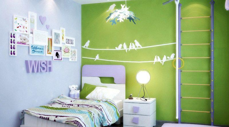 Какие обои лучше выбрать для детской комнаты: позитив в дизайне и сюжете - Интерьер