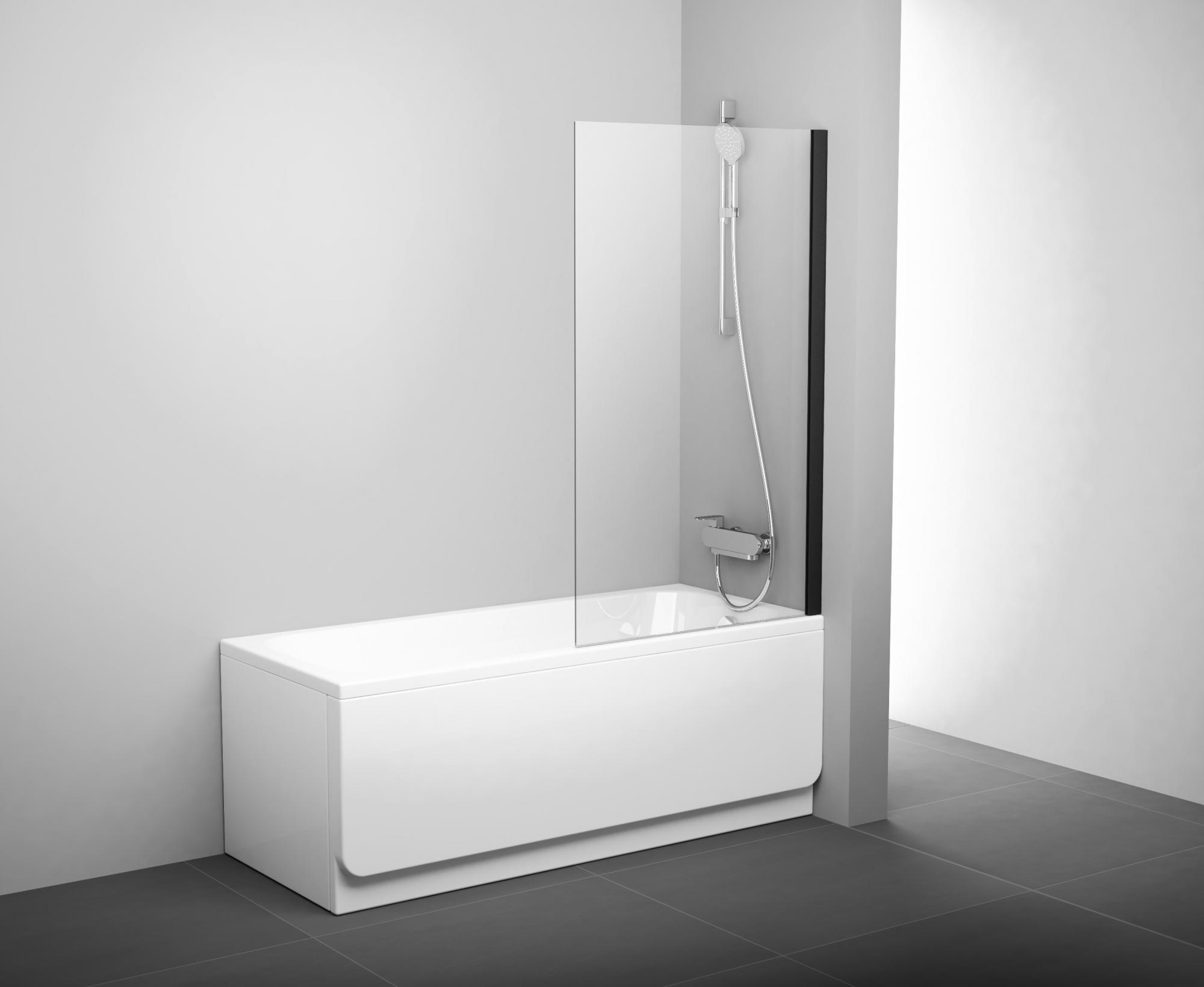 Стеклянные шторки для ванной — все «за» и «против» - Отделка