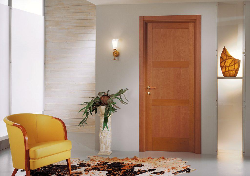 Межкомнатная дверь цвет миланский орех
