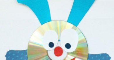 Смешарики из дисков своими руками пошагово с шаблонами