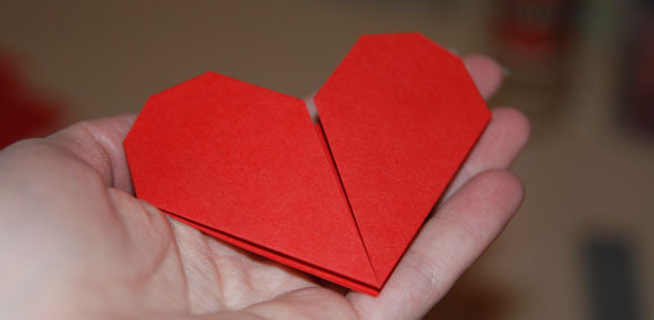 Валентинка оригами своими руками: мастер-класс со схемами