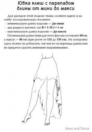 Юбки из шифона своими руками