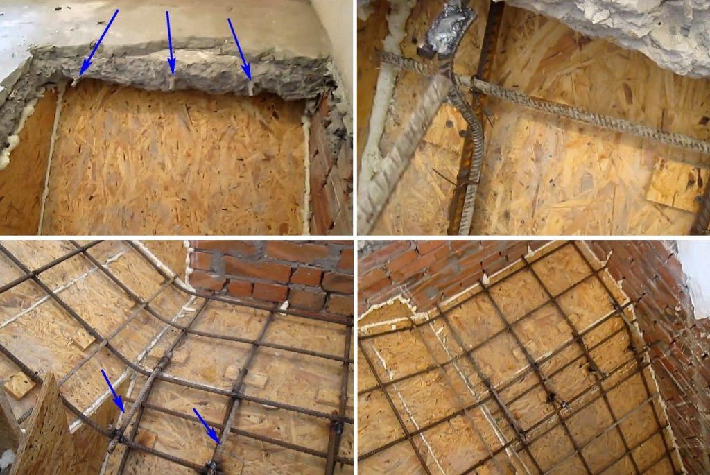 Армирование бетонной лестницы своими руками