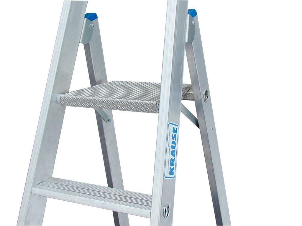 Алюминиевая лестница-стремянка Krause