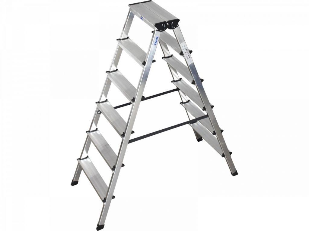 Двухсторонняя лестница стремянка