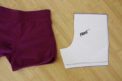 d2e3e659ae6 Как сшить женские шорты своими руками  выкройка и мастер класс по пошиву