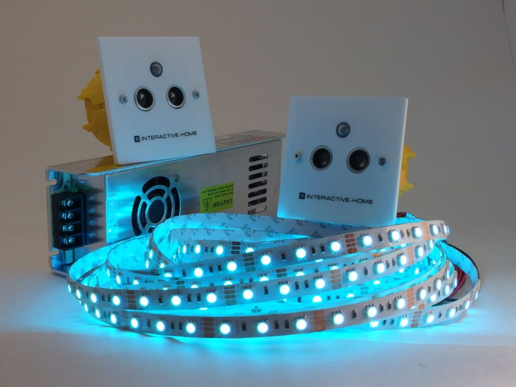 Автоматическая светодиодная подсветка для лестницы