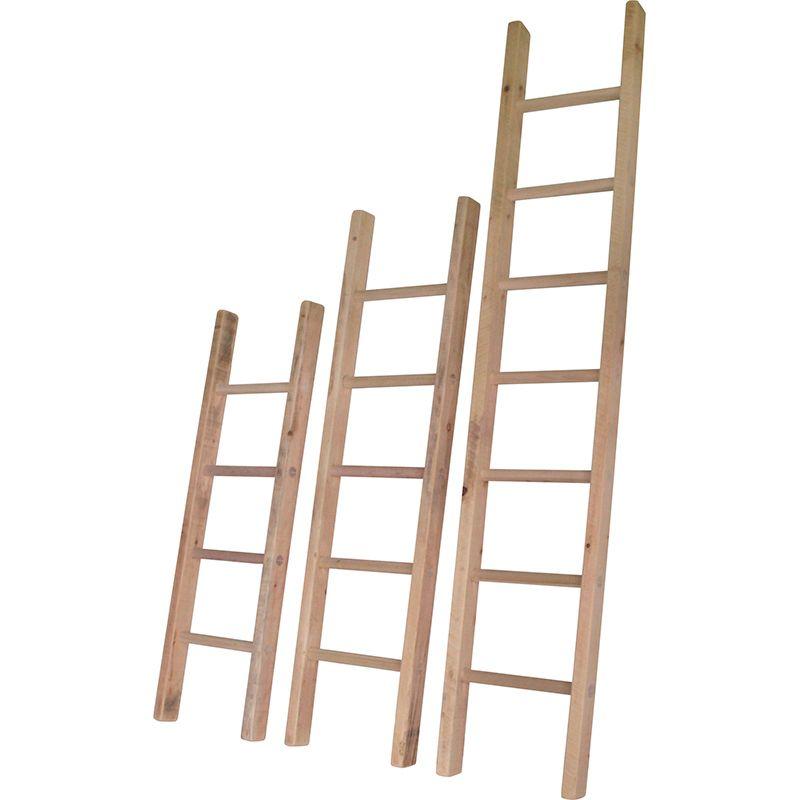 Приставные лестницы из дерева