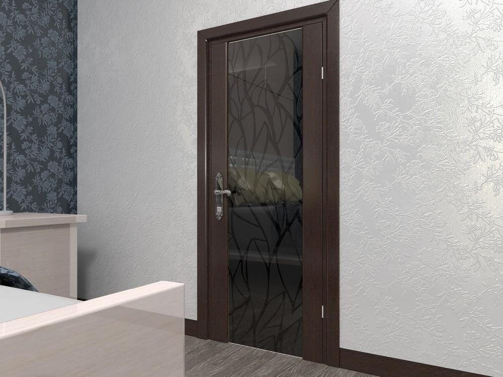 Межкомнатные двери со стеклом триплекс