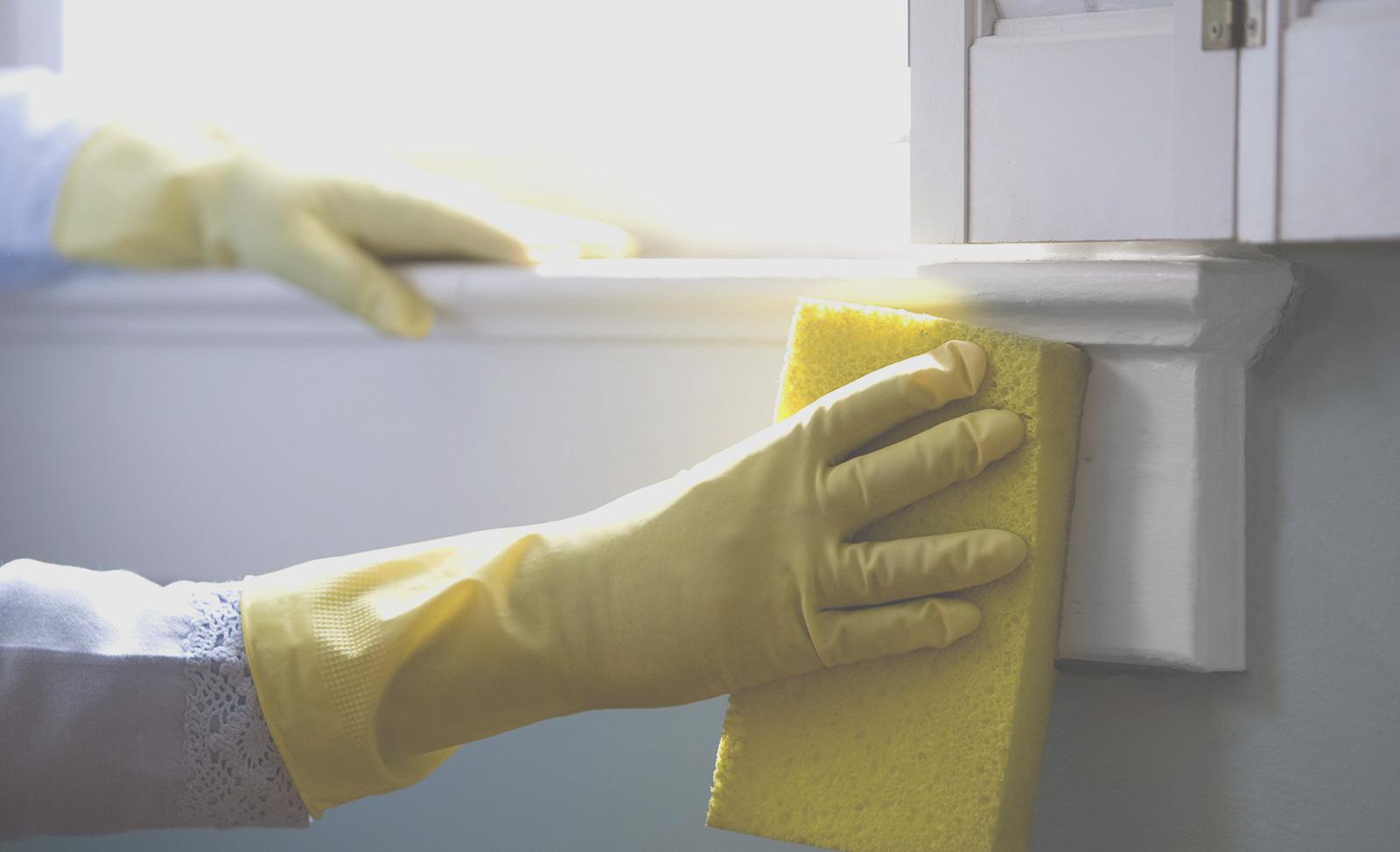 [Будет чисто!] Как отмыть пластиковый подоконник?