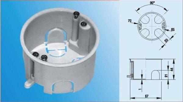 Подрозетники для гипсокартона: правильный выбор и установка